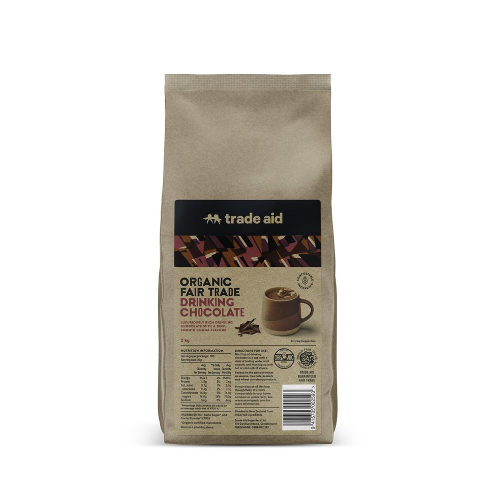 Trade Aid Drinking Chocolate 2kg