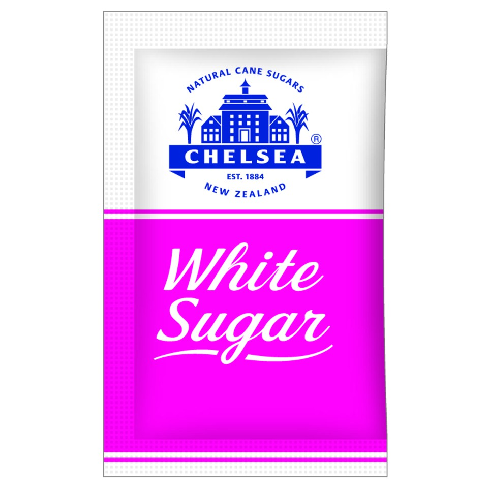 Chelsea Sugar White 3g Sachets Box 2000