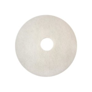3M 4100 350mm Super Polish Pad White