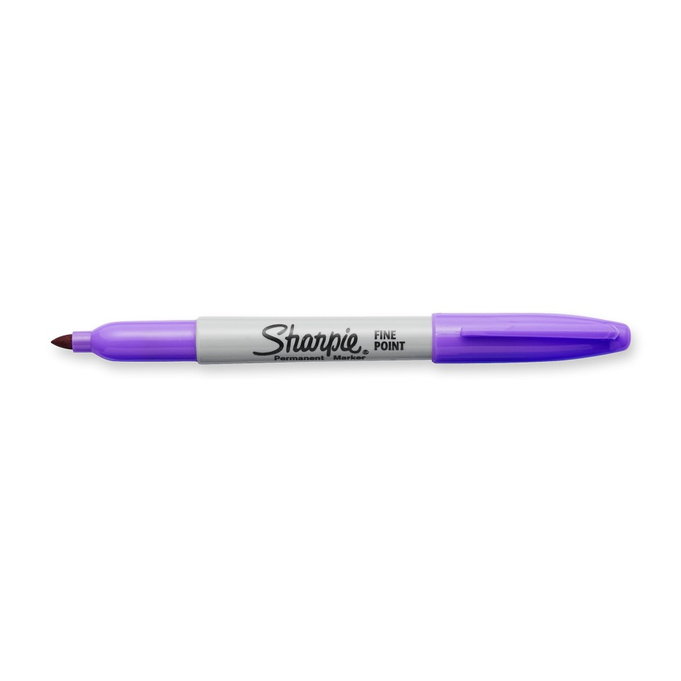 Sharpie Permanent Marker Fine 1.0mm Purple