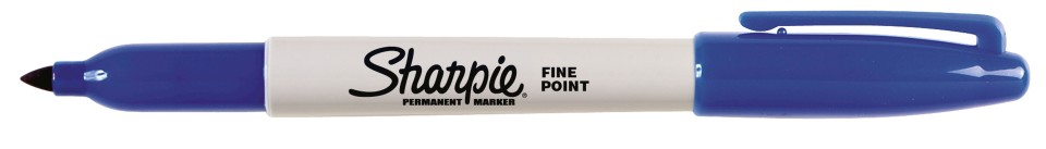 Sharpie Permanent Marker Fine 1.0mm Blue