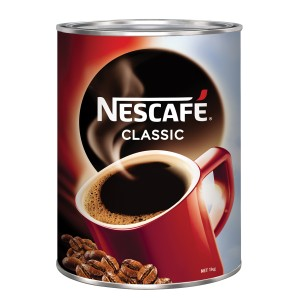 Nescafe Classic Granulated Instant Coffee Tin 1Kg