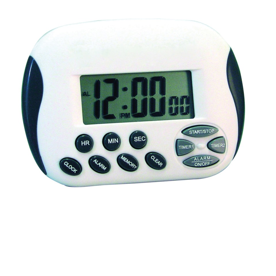 Jastek Digital Timer With Clock