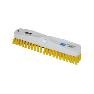 250mm Hygiene Floor Scrub Head Yellow Fill