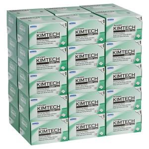 Kimtech Kimwipes Delicate Task Wipers 1 Ply 34120 11cm x 21cm White 280 Sheets per Box Carton of 30