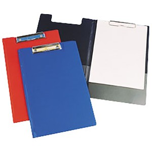FM Clipboard Blue With Flap Foolscap