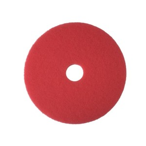 3M 5100 Buffing/Cleaning Pads Red 35cm Each
