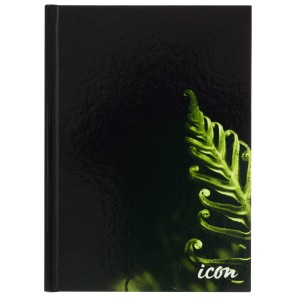A5 200Pg Ruled Hard Cover Notebook