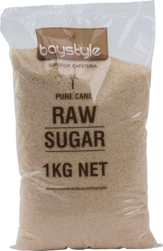 Baystyle Raw Sugar 1kg