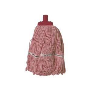 Oates Duraclean Hospital Launder Mop Head 350gm Red SM-418-R
