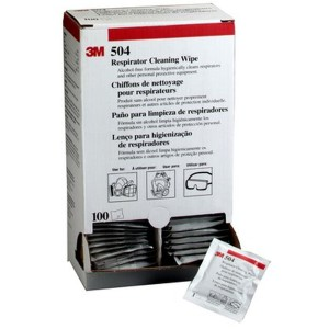 3M Respirator Cleaning Wipes Box Of 100