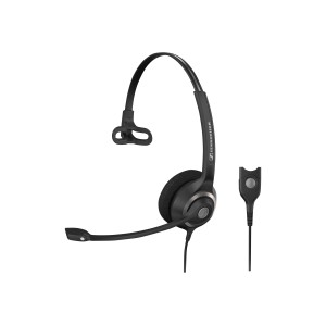 Sennheiser Sc 230 Monaural Wideband Headset With Noise-Cancelling Mic