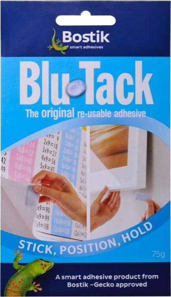 Bostik Blu Tack Reusable Adhesive 75g
