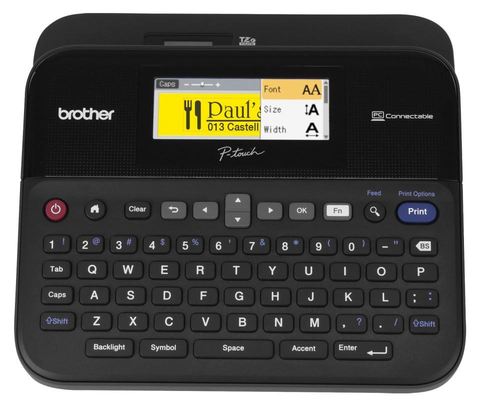 Brother Professional Desktop Labeller PT-D600