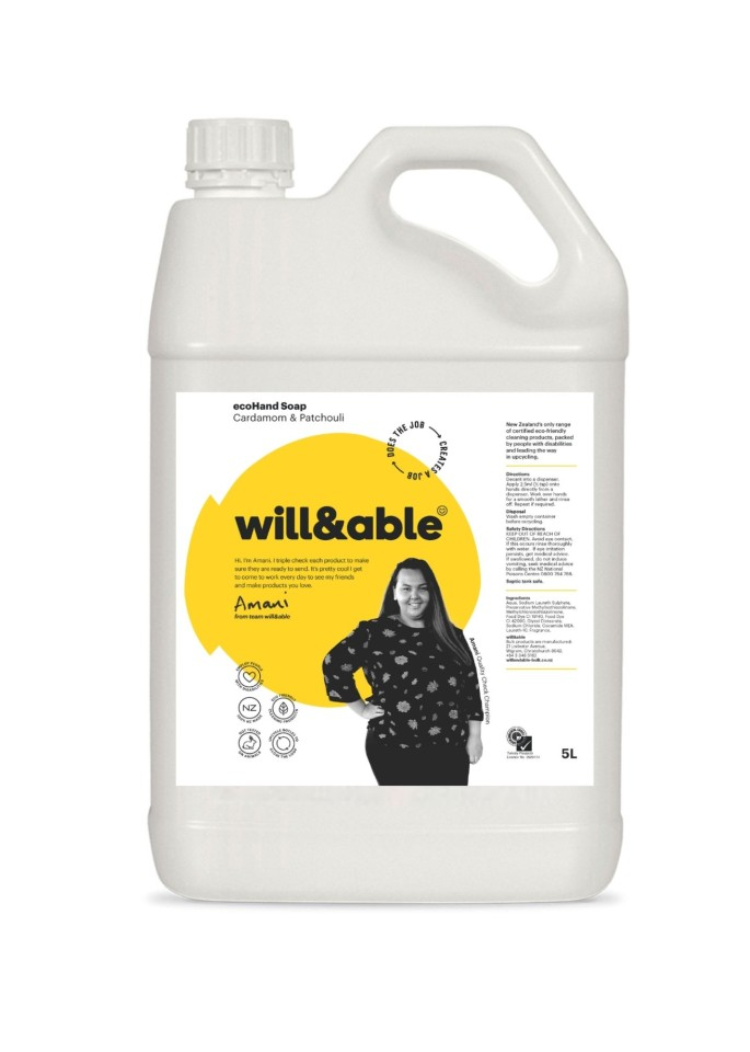 Will&able Ecohand Soap 5l