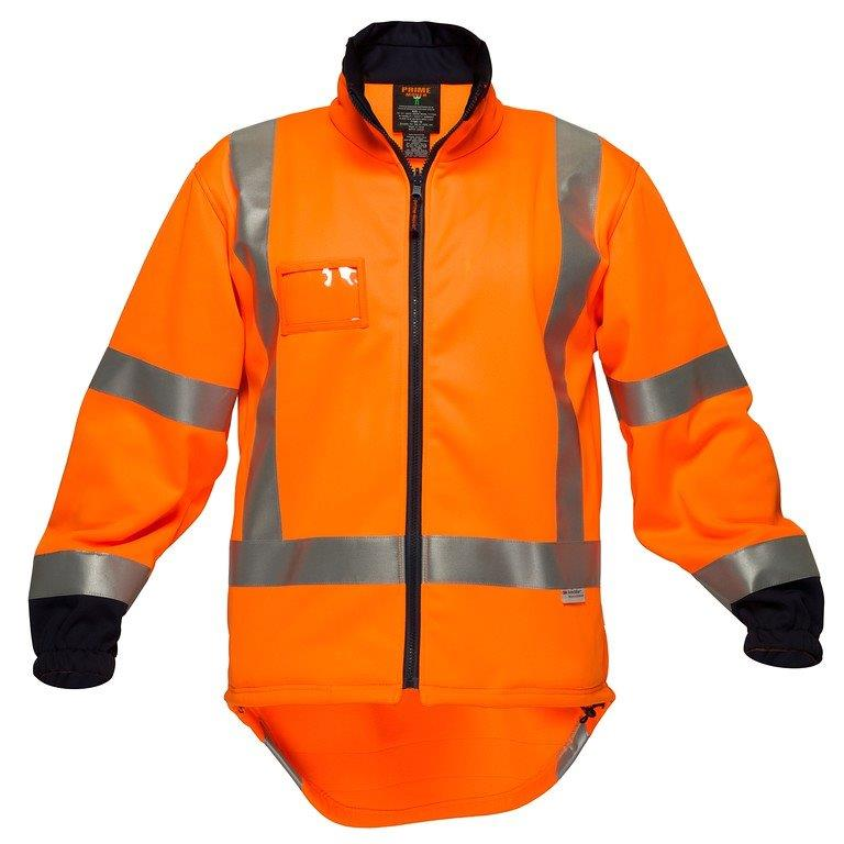 Prime Tt715A Ttmc Water Resistant Fleece Orange L