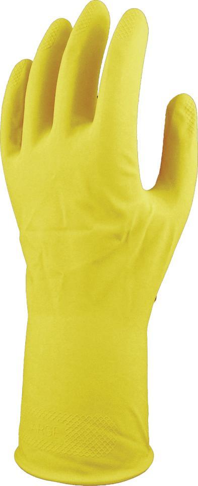 Lynn River Silver Lined Gloves Yellow Medium Pkt 12