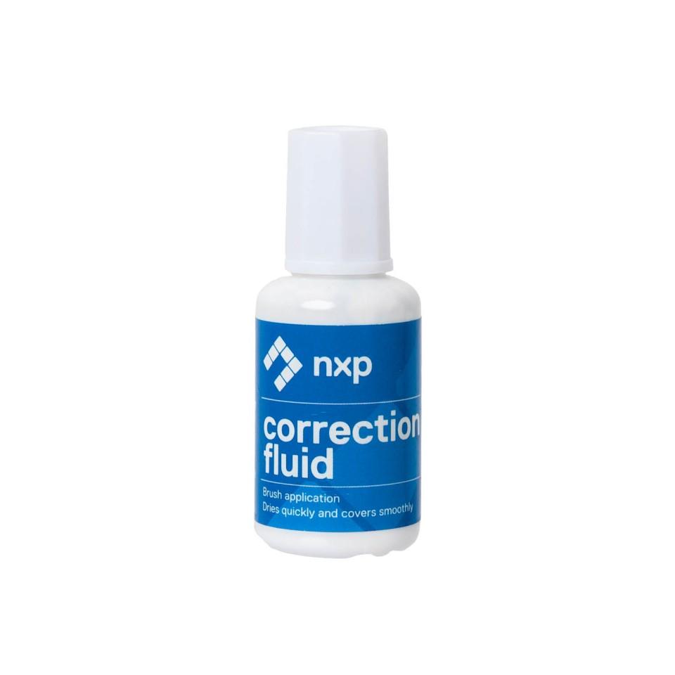 NXP Correction Fluid Brush Bottle 20ml