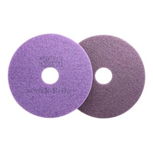 3M Diamond Floor Pad Purple 400mm FN510076519