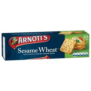 Arnotts Sesame Wheat Cracker 250g