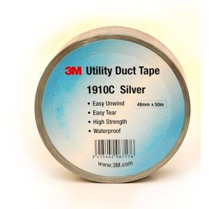 3M 2929 48mm X 45.7M Utility Duct Tape Silver
