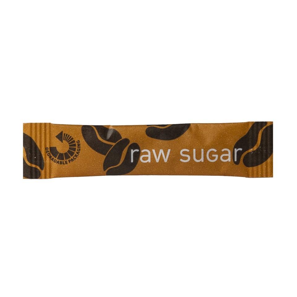 Cafe Style Raw Sugar Sticks Box 2000