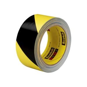 3M Tape Safety Stripe 5702 Yellow/black 50mm X 33m