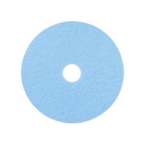 3M 3050 High Performance Burnishing Pad Sky Blue 53cm Each
