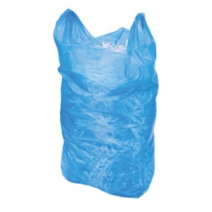 Rubbish Bag HDPE 60 Litre Blue 385mm x 240mm x 1000mm 25 micron Pack of 50