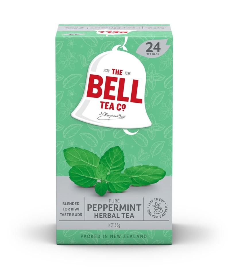 Bell Herbal Peppermint Tea Bags Packet 24