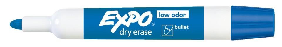 Expo Whiteboard Marker Bullet Tip 2.0mm Blue