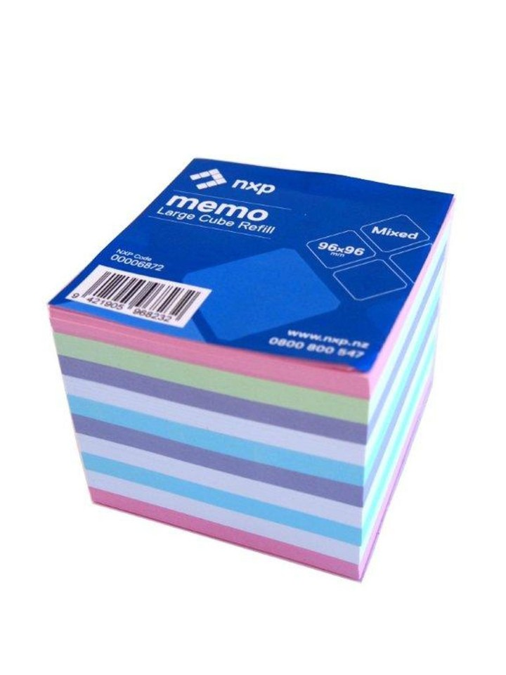 Large Memo Cube Refill Standard Full Size