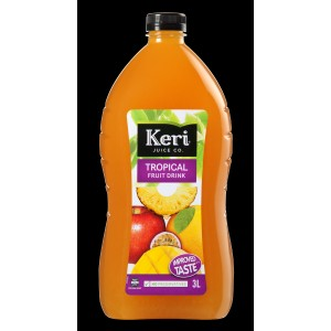 KERI Juice Tropical Fruit Drink 3l