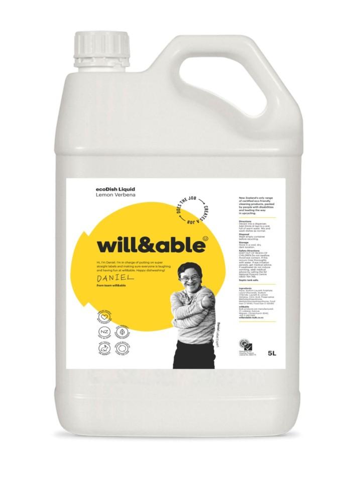 will&able ecoDish Liquid - 5L