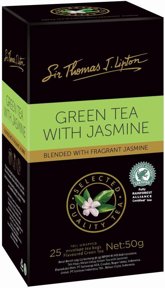Sir Thomas Lipton Jasmine Green Tea Bag Pack 25