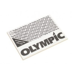 Olympic Topless Pad A4 100 Leaf 50gsm Image