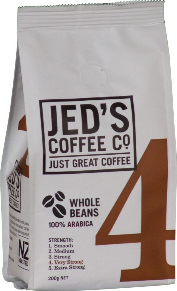 Jed's No. 4 Coffee Beans 200g