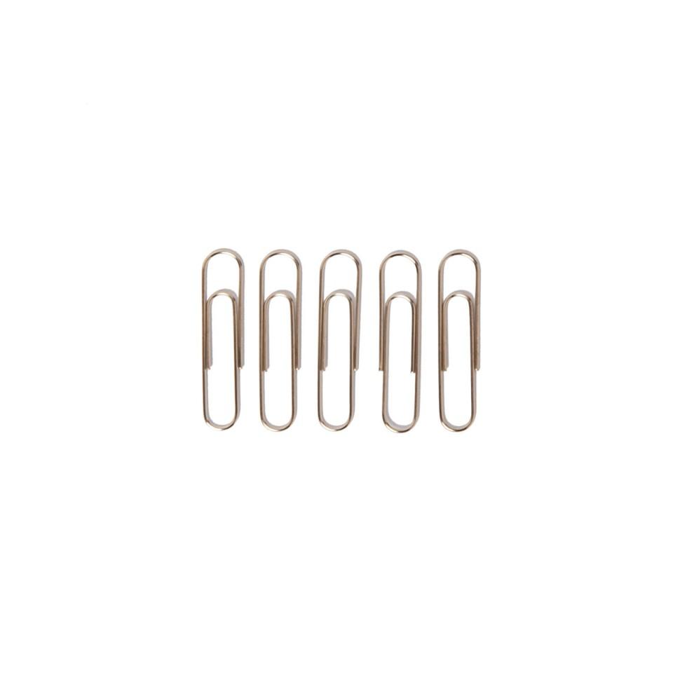 Paper Clip 33mm Steel Box 100