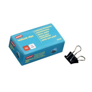 Foldback Clips 15mm Box 12