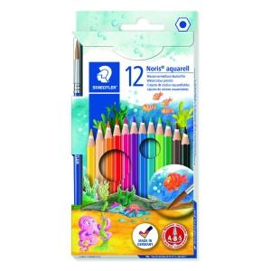 Staedtler Noris Aquarell Pencil Watercolour Pack 12