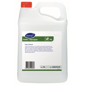 Diversey F4 Taski View Quick Floor Cleaner For Mopping 5 Litre 5687649