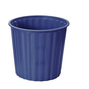 Gbp 30cm Diameter Plastic Rubbish Bin Blue