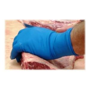 Lynn River Disposable Blue Latex Powder Free Heavy Duty Gloves Large Box 50