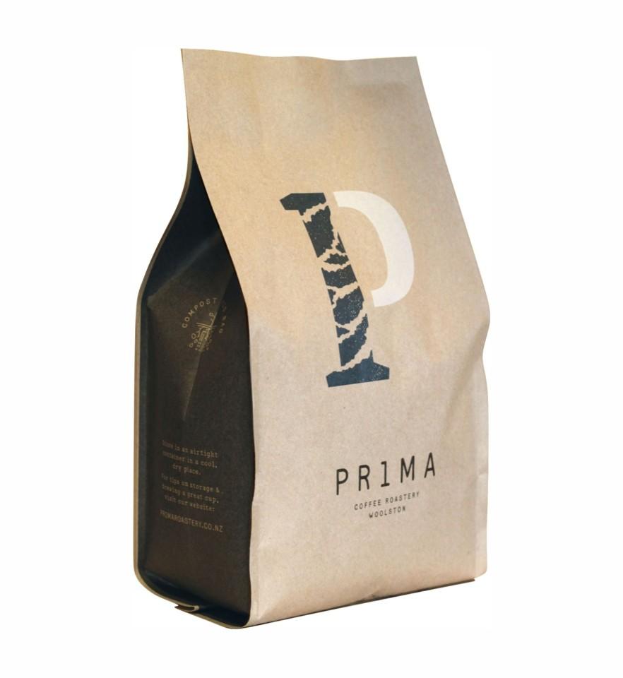 Prima Roastery Fairtrade Organic Instant Powdered Coffee Bag 500g