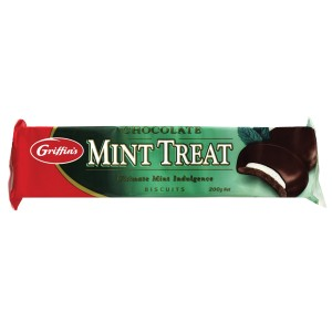 200Gm Chocolate Mint Treat Sensations Biscuits