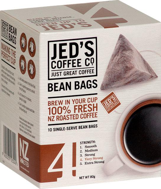 Jed's No. 4 Instant Coffee Bean Bag Box 10