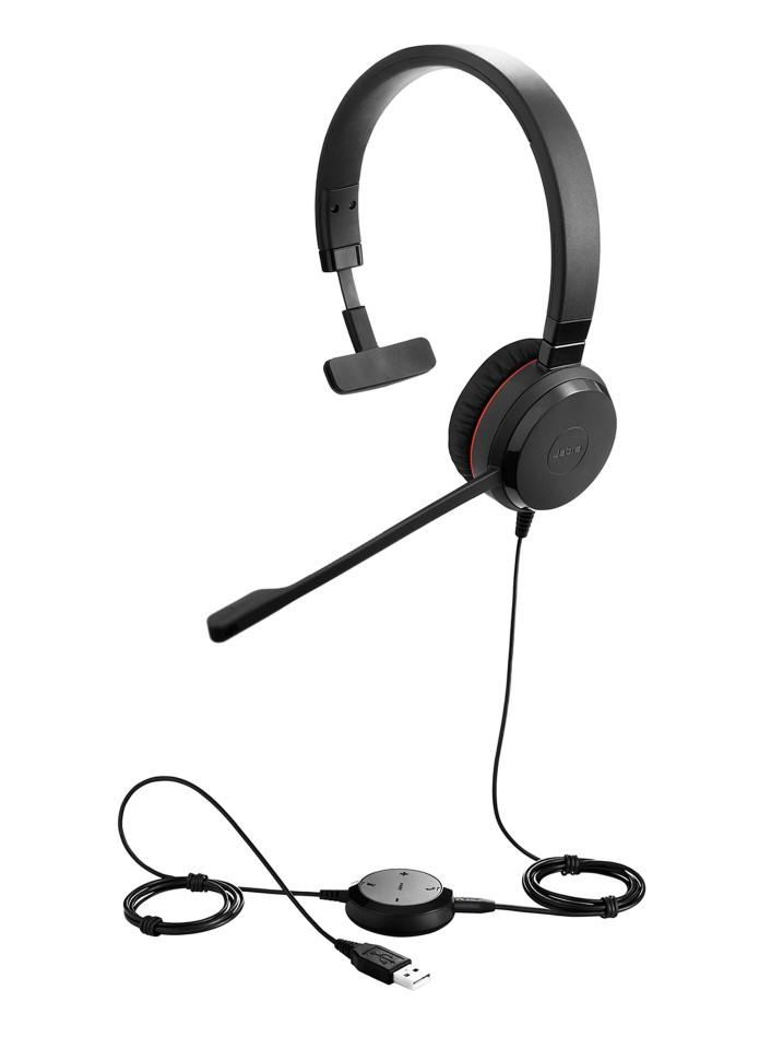 Jabra Evolve 30 Ii Ms Mono Headset - Skype For Business