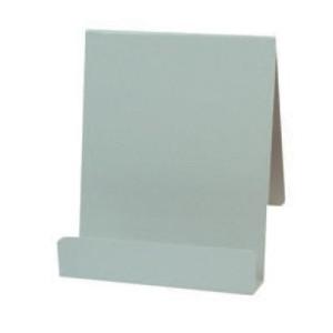 125mmwx150mmh Std Book Easel Steel Grey Each