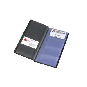 Marbig PVC 96Pk Business Card Holder Black
