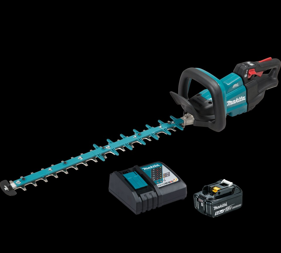 Makita 18v Lxt Brushless and Cordless Hedge Trimmer 600mm Duh602rt